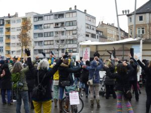 Pressemitteilung: One Billion Rising am 14.2.2017