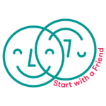 Start with a friend Mannheim. Logo